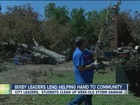 Bixby city leaders help community