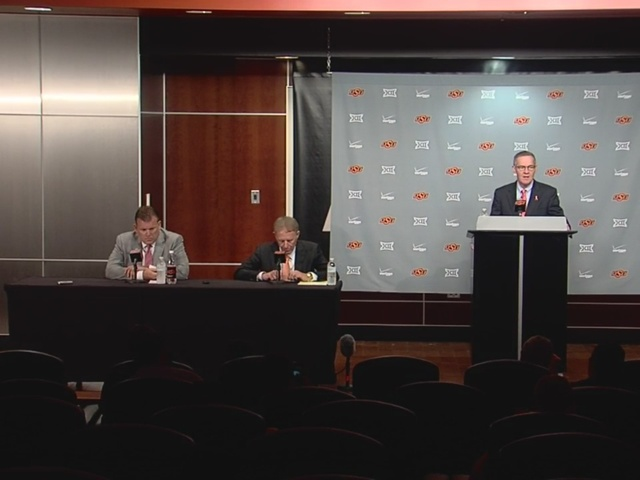 Oklahoma State University Mens Basketball Press Conference