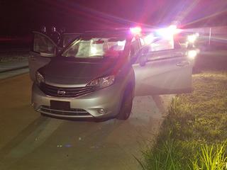 Man arrested following stolen vehicle pursuit