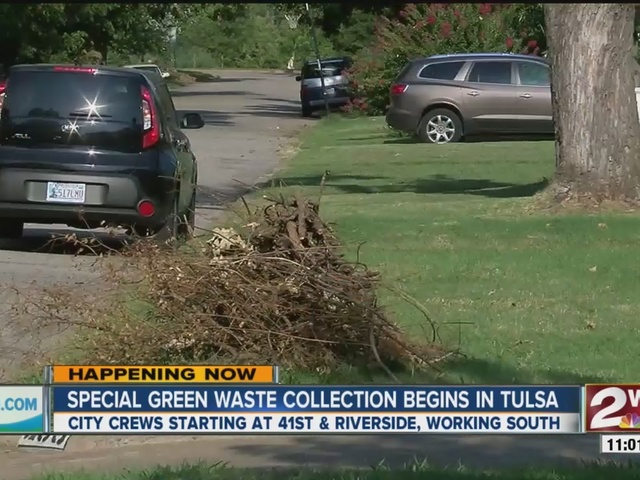 Special green waste collection begins in Tulsa