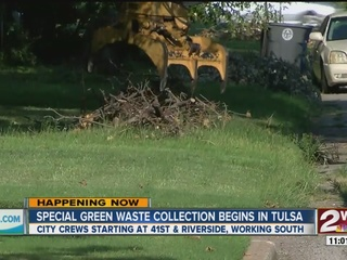 Tulsa crews begin cleanup following storms