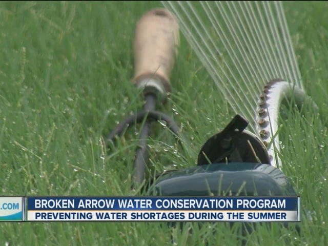 Broken Arrow water conservation aims to prevent water shortages during Summer