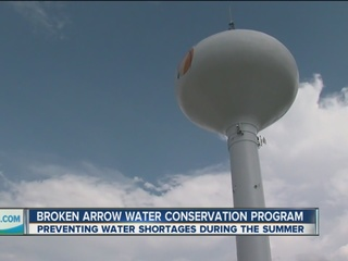 Water conservation project moves to Broken Arrow