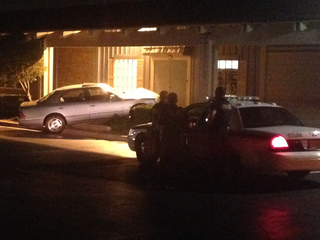 Vehicle crashes into midtown shopping ctr: TPD