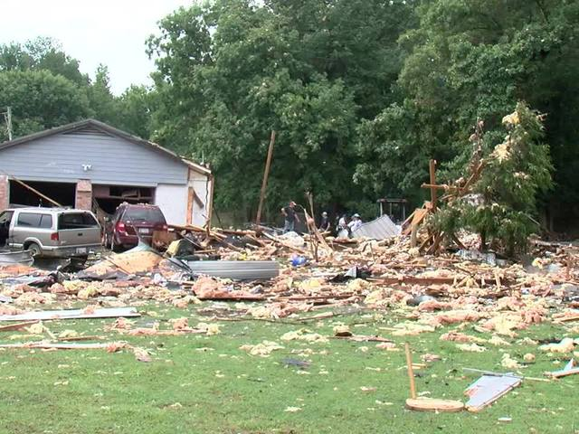 1 person is dead after house explodes in Tahlequah, Oklahoma