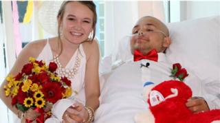CPHS teen battling cancer marries girlfriend