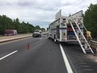 Inside WB I-44 lane reopened after 2 semis wreck