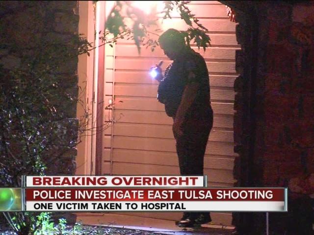 Police investigate east Tulsa shooting