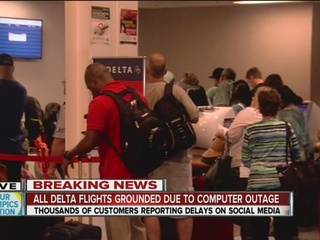 Delta ground stop lifted; Tulsa flights impacted