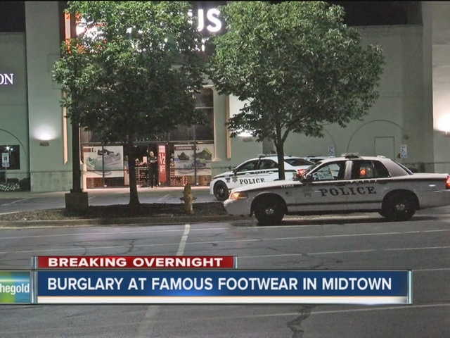 Police Respond To Burglary Alarm At Midtown Tulsa Famous Footwear