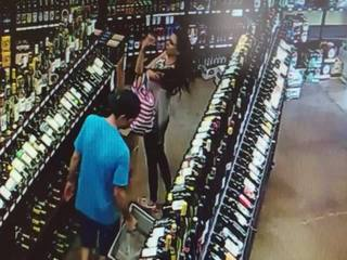 WATCH: Video allegedly shows wine theft in Jenks
