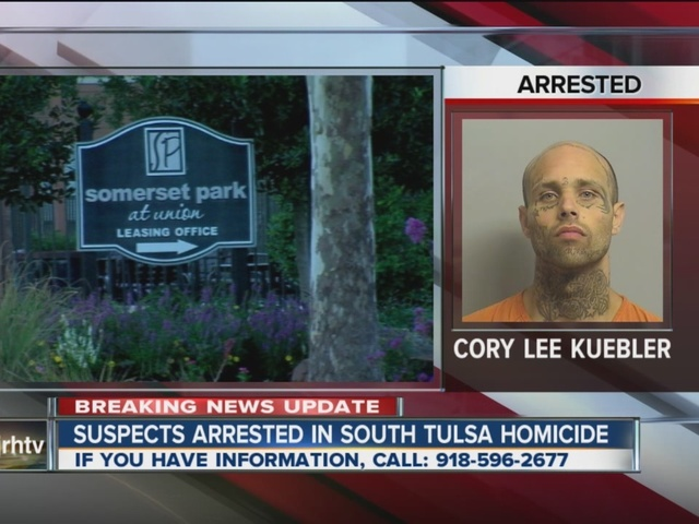 Two suspects arrested fatal south Tulsa shooting