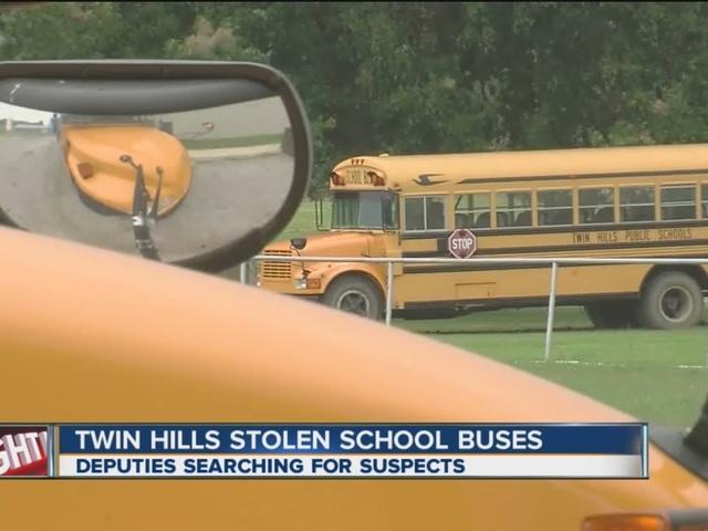 2 school buses stolen from Okmulgee Co. school