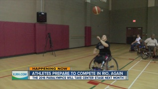 Athletes prepare for the 2016 Paralympic Games