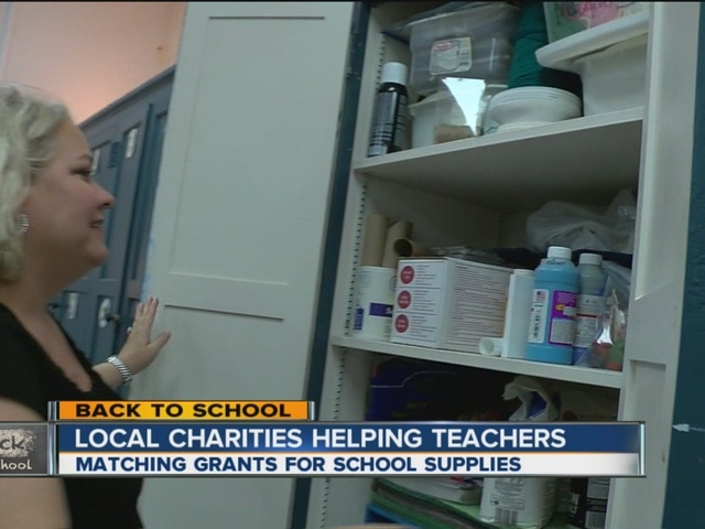 Local teachers turning to crowdfunding to help buy school supplies
