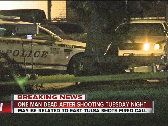 Man dead after overnight shooting in East Tulsa