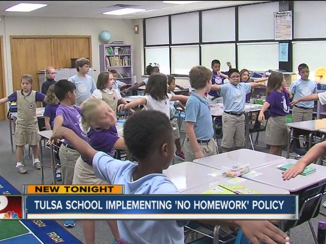 No homework policy in effect at Zarrow