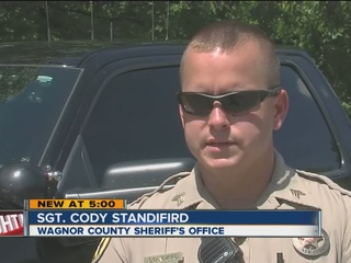 Wagoner Co. Deputy saves man's life