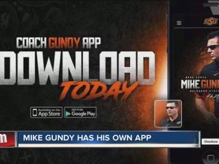 OSU head FB coach Mike Gundy releases app