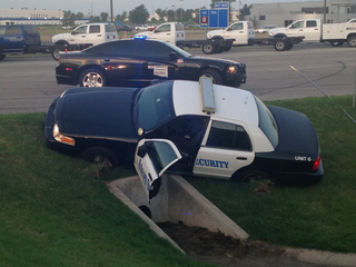 TPD: Security vehicle stolen leads to chase