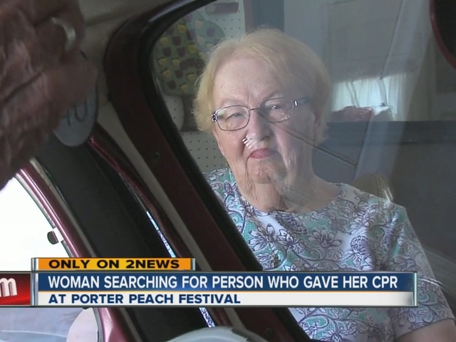 Woman Searches For Person Who Gave Her CPR