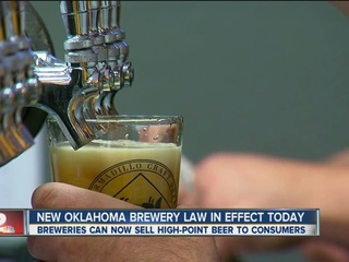 OK brewery law allows high-point beer sales
