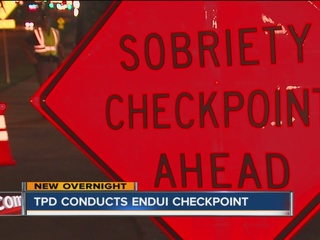 14 arrested after ENDUI checkpoint in Tulsa