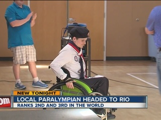 Oklahoma Paralympian headed to Rio