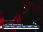 North Tulsa house fire considered suspicious