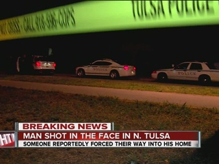 Man shot in the face in north Tulsa