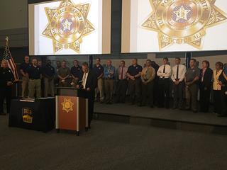 Tulsa detectives honored by Kansas sheriff