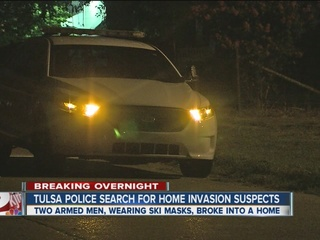 TPD search for two armed men in home invasion