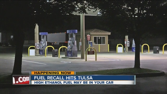 Tulsa gas station back open after fuel recall