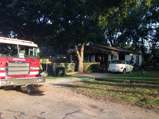 2 displaced after Sapulpa house fire