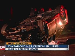 12-year-old injured in Sapulpa crash