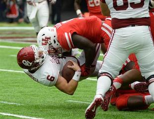 Mayfield shoulders blame for loss to Houston