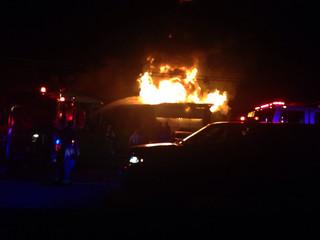 Sapulpa fire crews investigate garage roof fire