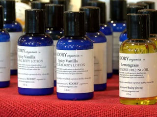 Cancer survivor starts organic skincare line