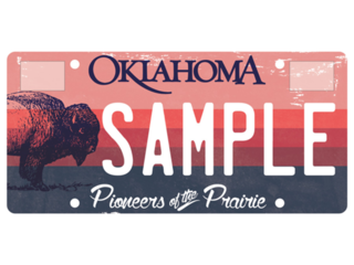 Bison-themed license plate selected after vote