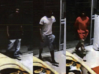 BA police searching for three robbery suspects