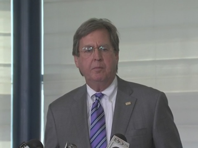 Mayor Dewey Bartlett speaks about fatal officer-involved shooting
