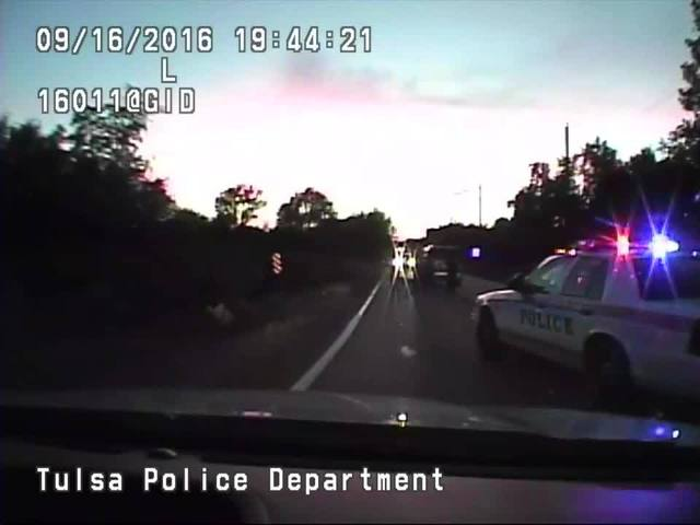 Terence Crutcher: Dash cam video of officer involved fatal shooting in…