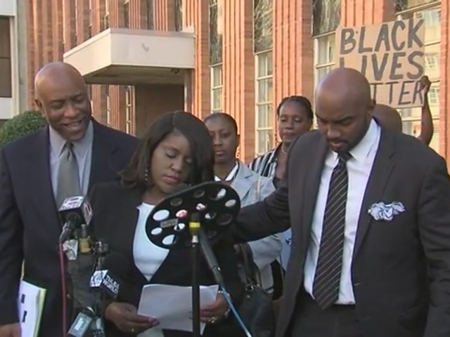 Terence Crutcher's twin sister Tiffany talks about DA's announcement for…