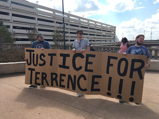 Rally held following Terence Crutcher shooting