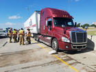 Damaged semi-truck causes I-44 delays