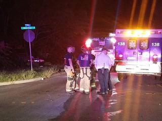 No injuries reported after north Tulsa crash