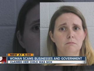 Woman allegedly scams businesses for thousands