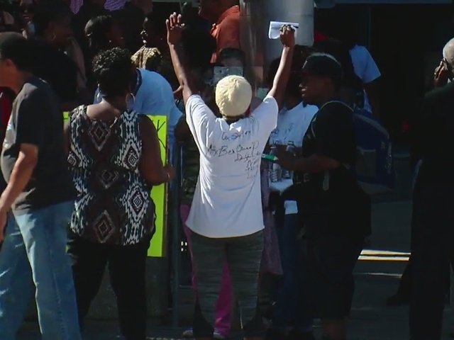 Funeral held for black man killed by police in Oklahoma