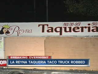 TPD: Local taco truck robbed by 2 suspects