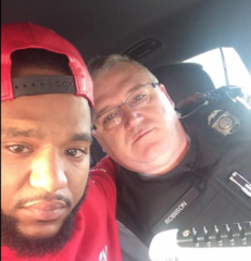 Grieving man helped by trooper who pull him over